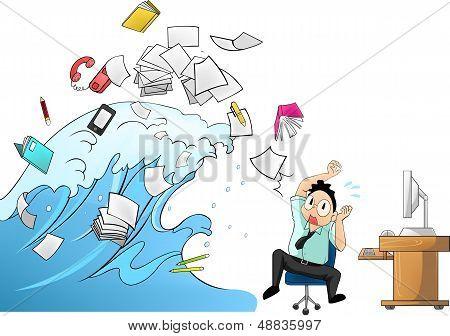 Tidal Wave Of Work - Man Version