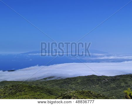 View From Mount Of Garajonay On Gomera