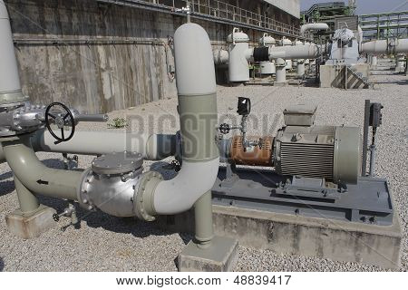 Electrical Pump Station
