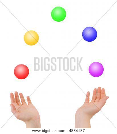 Juggling Hands