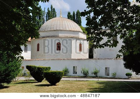 Khan's Palace and Garden in Bakhchisaray, Crimea, Ukraine poster