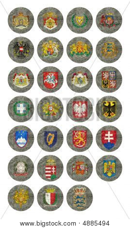 Coat Of Arms Of European Nations