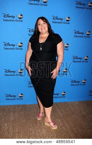 LOS ANGELES - AUG 4:  Lorraine Bruce arrives at the ABC Summer 2013 TCA Party at the Beverly Hilton Hotel on August 4, 2013 in Beverly Hills, CA