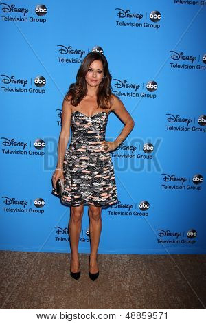 LOS ANGELES - AUG 4:  Brooke Burke-Charvet arrives at the ABC Summer 2013 TCA Party at the Beverly Hilton Hotel on August 4, 2013 in Beverly Hills, CA
