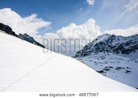 Mountains Background Diagonal