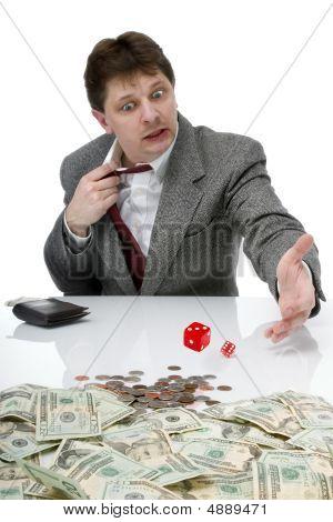 Businessman Gambling