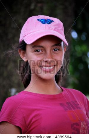 Hispanic Pre-teen.  Beautiful Girl.