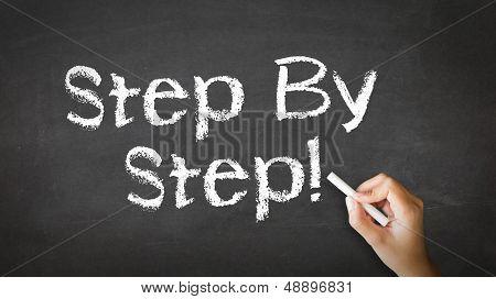 Step By Step Chalk Illustration