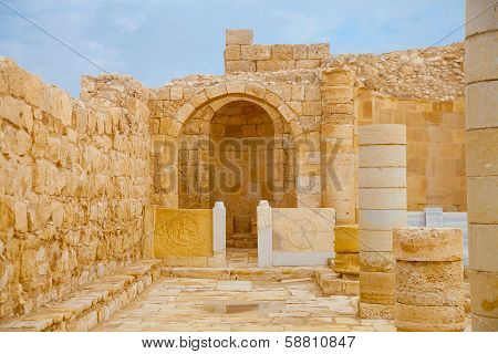 Altar Place In Ancient Church
