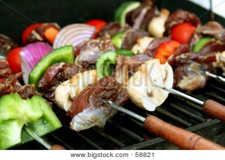 BBQ Sticks Close-up