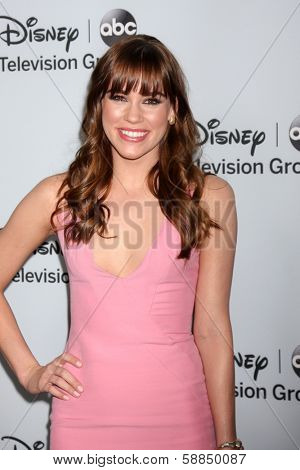 LOS ANGELES - JAN 17:  Christa B. Allen at the Disney-ABC Television Group 2014 Winter Press Tour Party Arrivals at The Langham Huntington on January 17, 2014 in Pasadena, CA