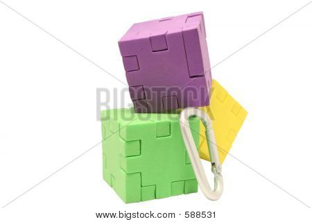 Three Blocks Climbing