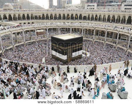 Journey to Hajj in Mecca 2013