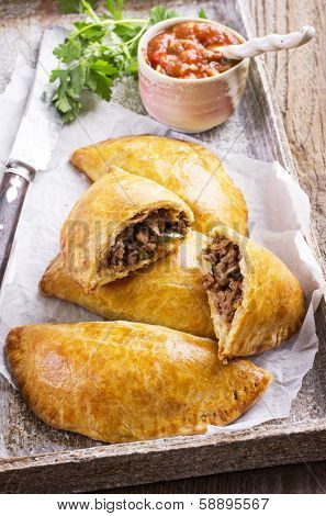 empanadas with ground beef