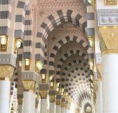 Arch Islamic architecture in Mecca poster