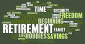 Retirement Planning as a Abstract Concept poster