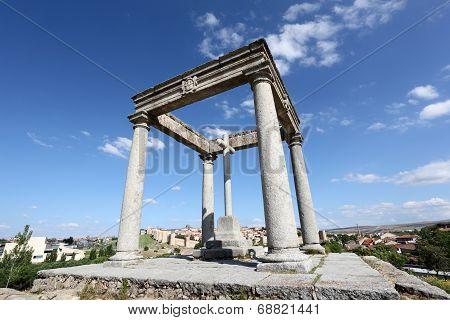 The Four Poles, Avila, Spain