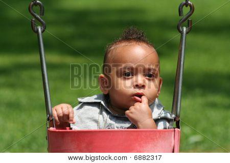 African Latin American Toddler