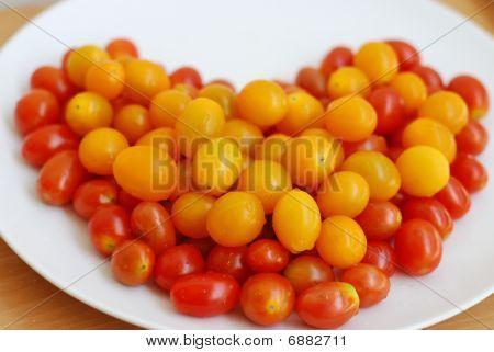 Tomatoes Heart Shape