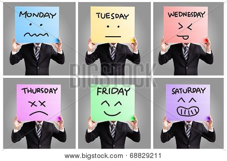 Day Of Week And Face Expression