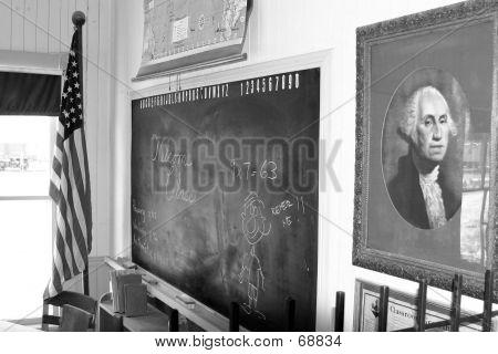 OLD CLASSROOM BLACKBOARD
