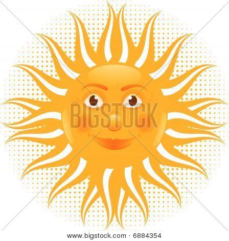 Sun Man Cartoon