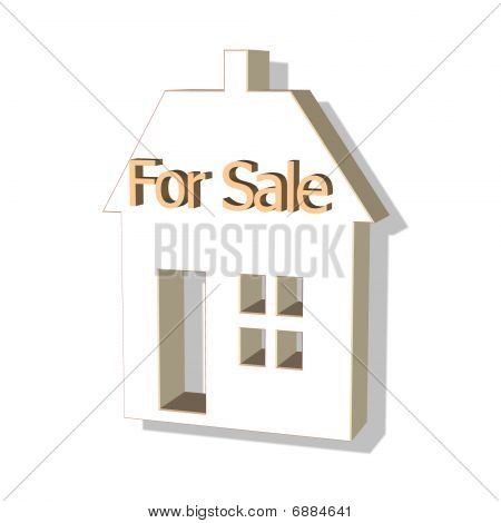 house for sale 3D