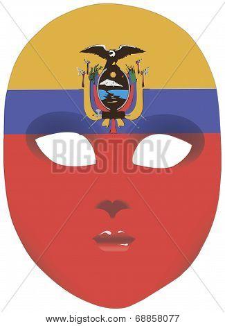 Ecuador Mask