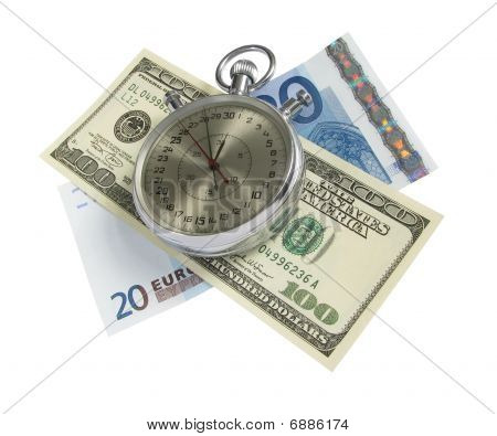 Time Is Money (with Clipping Path)