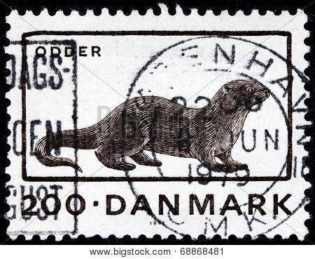 Otter Stamp