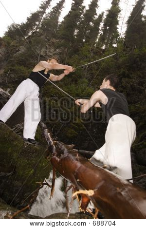 Two Man Fencing