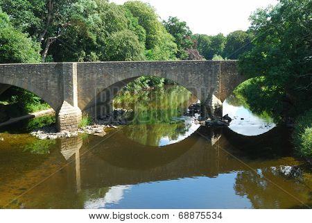 Main Road Bridge Over River Teviot