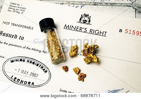 Mining Authorization