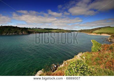 Mouth Of The Erme Estuary South Hams Devon
