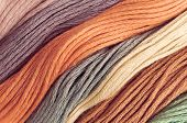 Detail of beautiful colored wools can be used for background poster