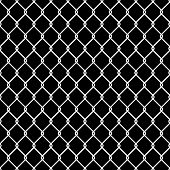 Steel Wire Mesh Seamless Background. Vector illustration poster
