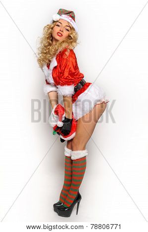 Sexy Santa's Helper girl