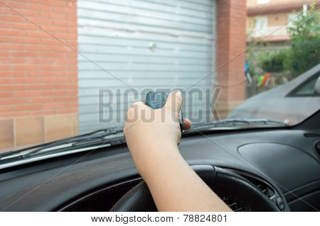 Pressing Control From The Car