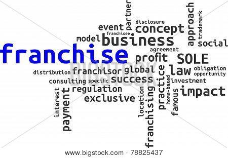 word cloud - franchise