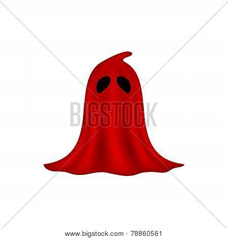 Executioner mask in red design