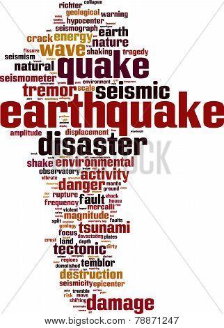 Earthquake Word Cloud