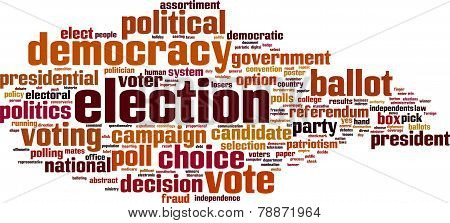 Election Word Cloud