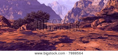Utah Landscape Canyon
