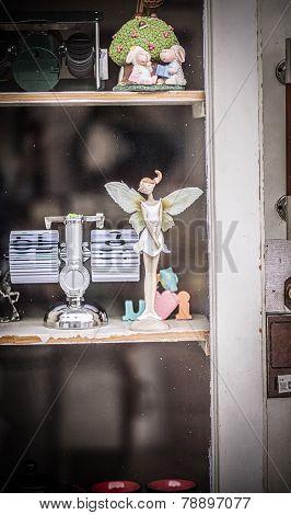 A faery in a shop