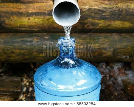 source of spring water bottle