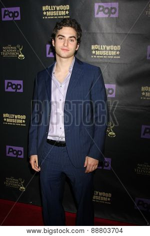 LOS ANGELES - April 21:  Blaine Kern III at the  2015 Daytime EMMY Awards Kick-off Party at the Hollywood Museum on April 21, 2015 in Hollywood, CA