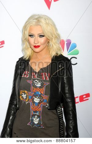 LOS ANGELES - April 23:  Christina Aguilera at the