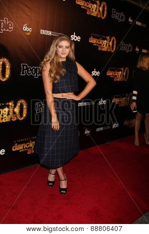 LOS ANGELES - April 21:  Willow Shields at the