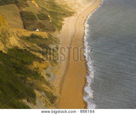 Beach, Sea, Shore, Coast, Arial, Cliff, Water