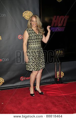 LAS VEGAS - APR 21: Anne Fletcher at the Warner Bros. Pictures Exclusive Presentation Highlighting the Summer of 2015 and Beyond at Caesars Pallace on April 21, 2015 in Las Vegas, NV